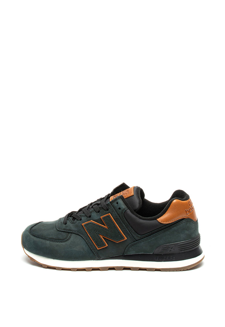 Pantofi sport de piele nabuc 574