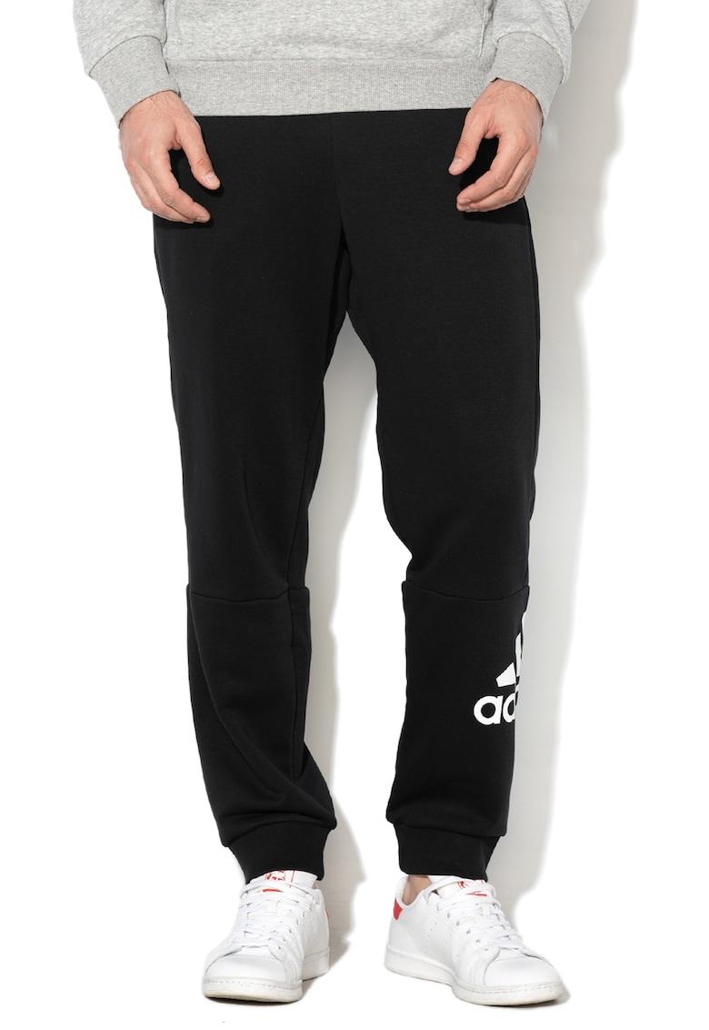Pantaloni sport pentru fitness – cu snur in talie Adidas PERFORMANCE