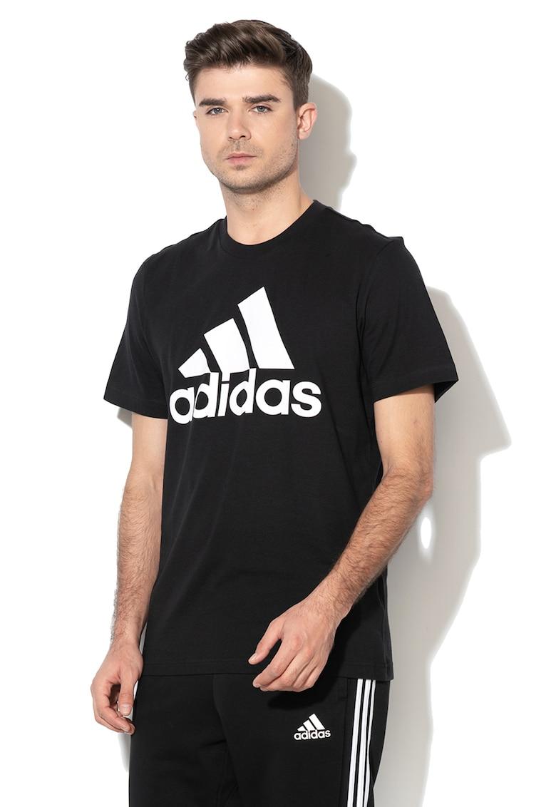 Tricou de bumbac cu imprimeu logo Adidas PERFORMANCE