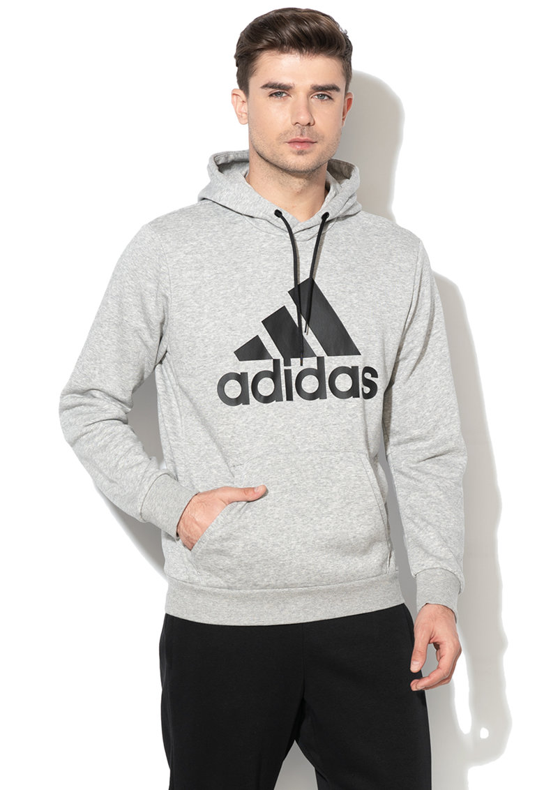Hanorac cu logo cauciucat de la Adidas PERFORMANCE