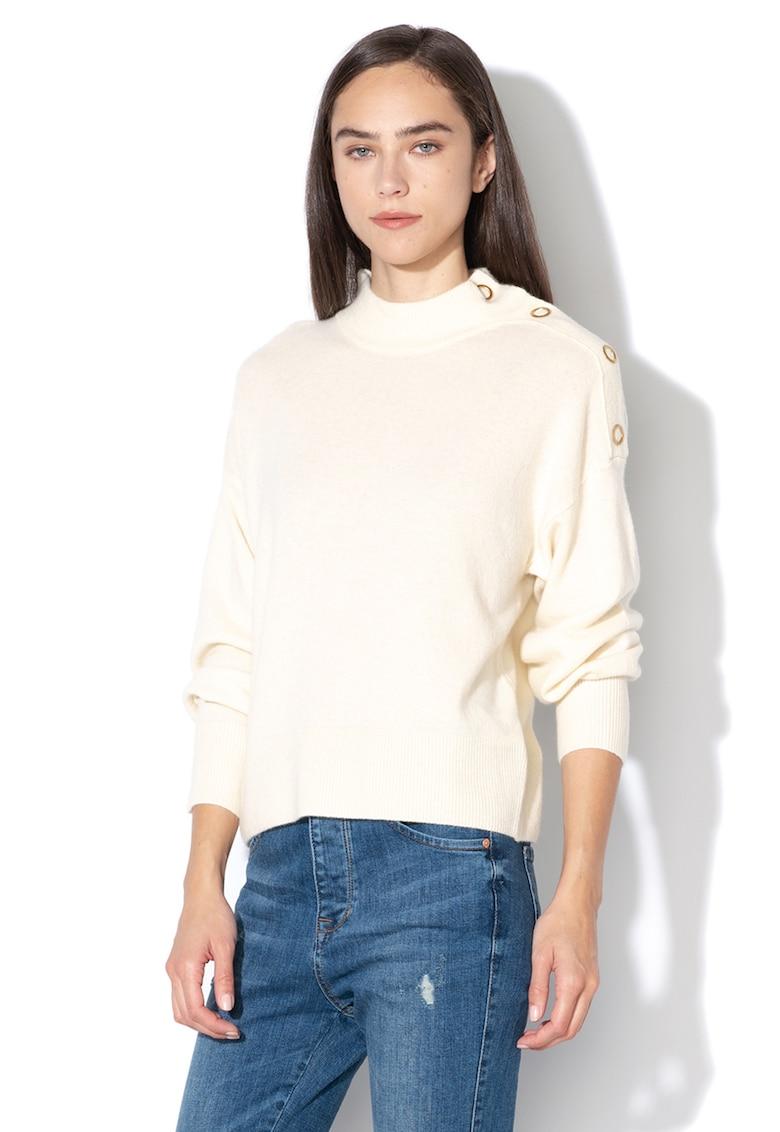 United Colors of Benetton Pulover din amestec de lana si casmir