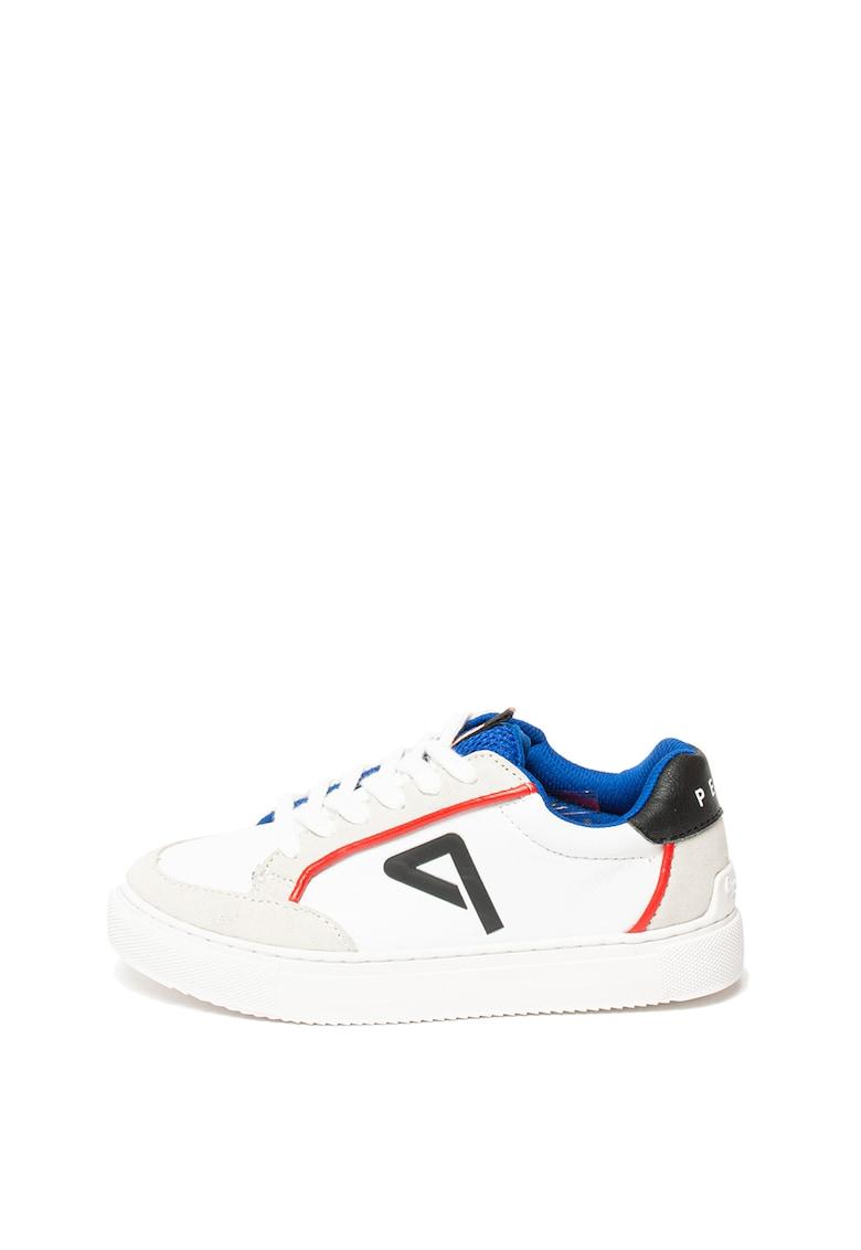 Pantofi sport de piele ecologica - cu garnituri de piele intoarsa Adams