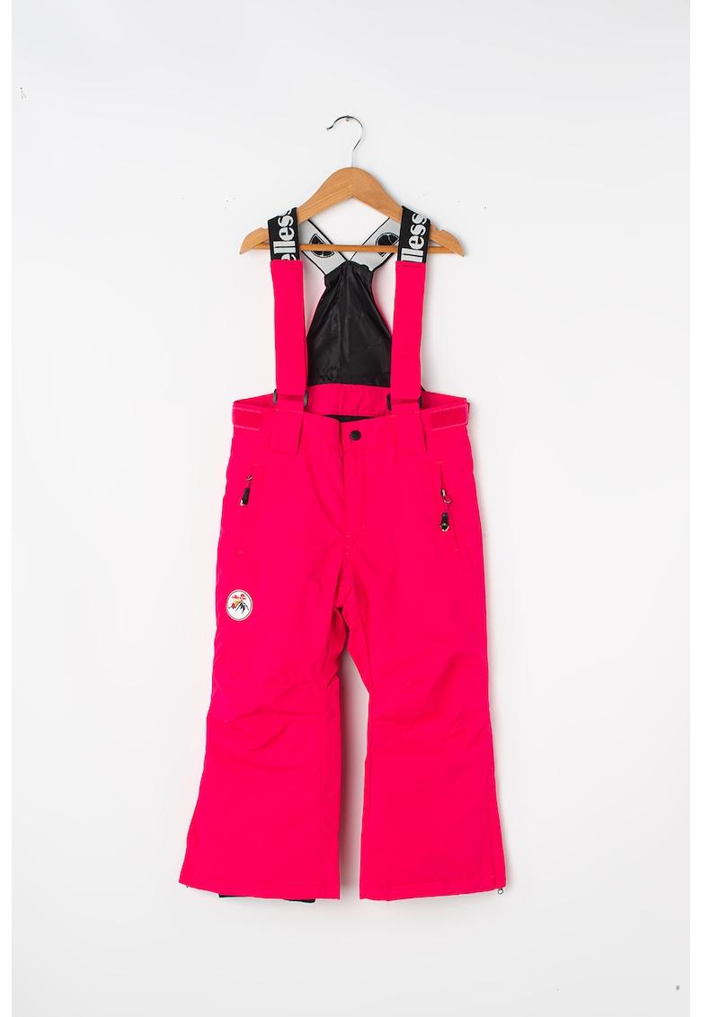 Pantaloni impermeabili – cu bretele – pentru schi ELLESSE