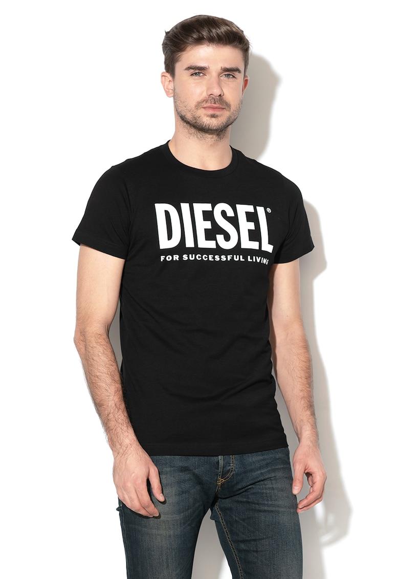 Tricou de bumbac cu imprimeu logo Diego