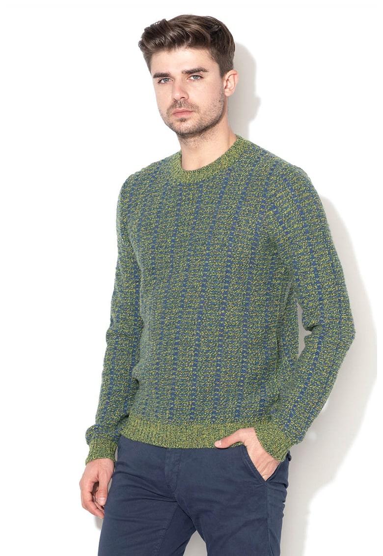 Pulover din amestec de lana