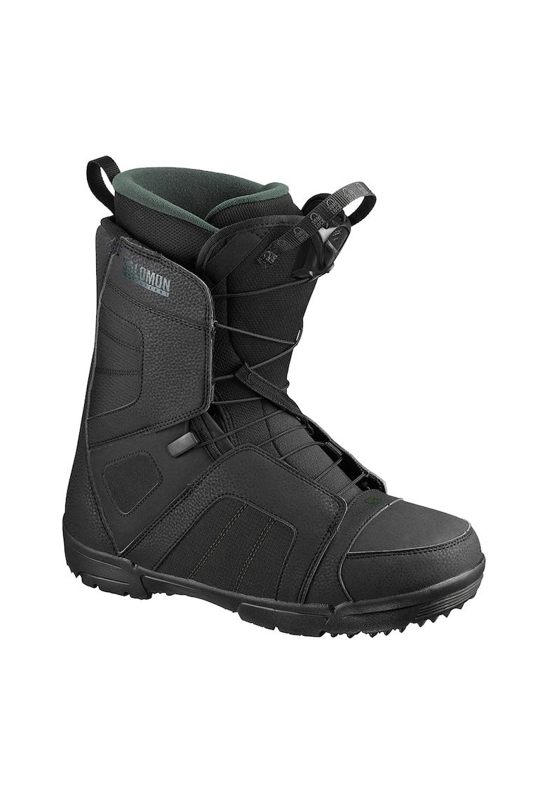 Titan boots snowboard - pentru barbati - Black/Green Gables - imagine promotie