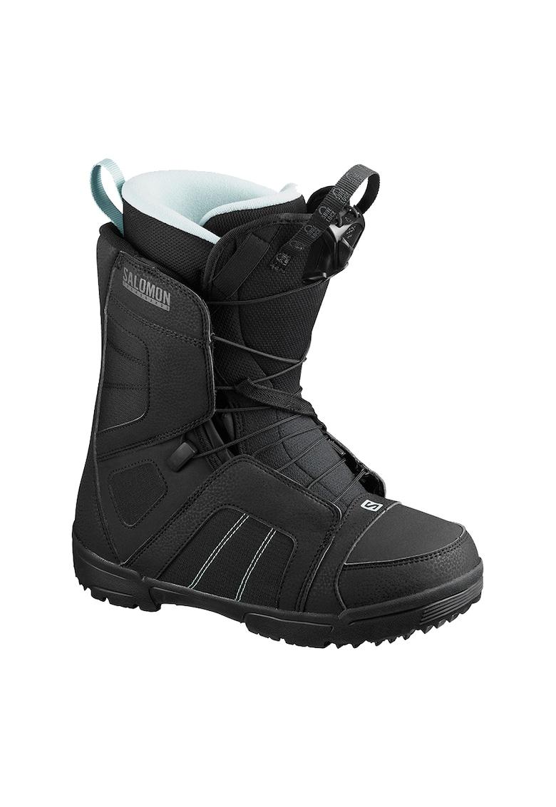 Scarlet boots snowboard - pentru femei - Black/Sterling Blue - imagine promotie