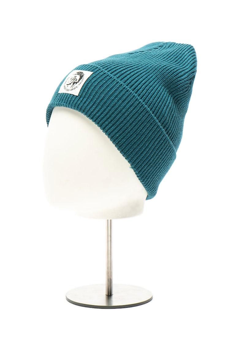 Caciula unisex tricotata - din amestec de lana Coder
