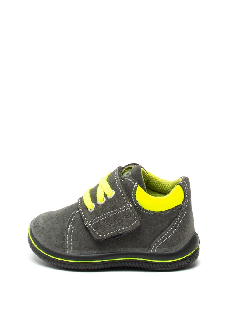 Pantofi sport de piele intoarsa – cu velcro Primigi
