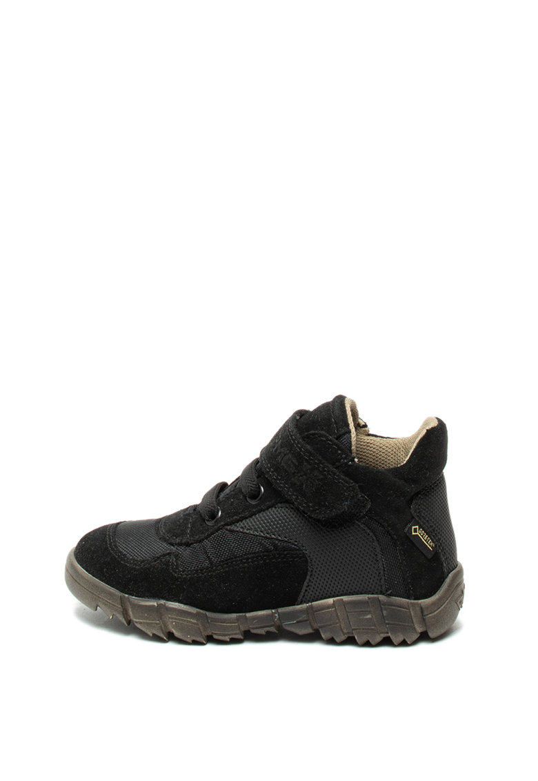 Pantofi sport cu velcro si insertii de piele intoarsa Primigi