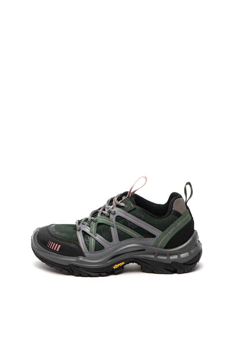 Pantofi sport cu insertii de plasa Superway