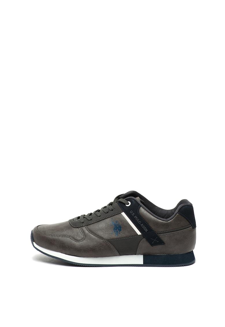 Pantofi sport de piele ecologica Forth