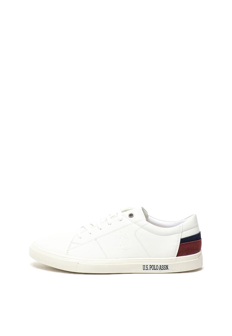 Pantofi sport de piele ecologica - cu detalii contrastante Scott poza fashiondays
