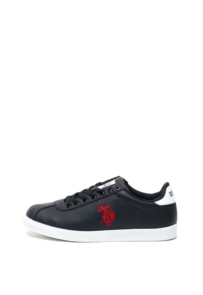 Pantofi sport cu detaliu logo brodat Tabor imagine fashiondays.ro