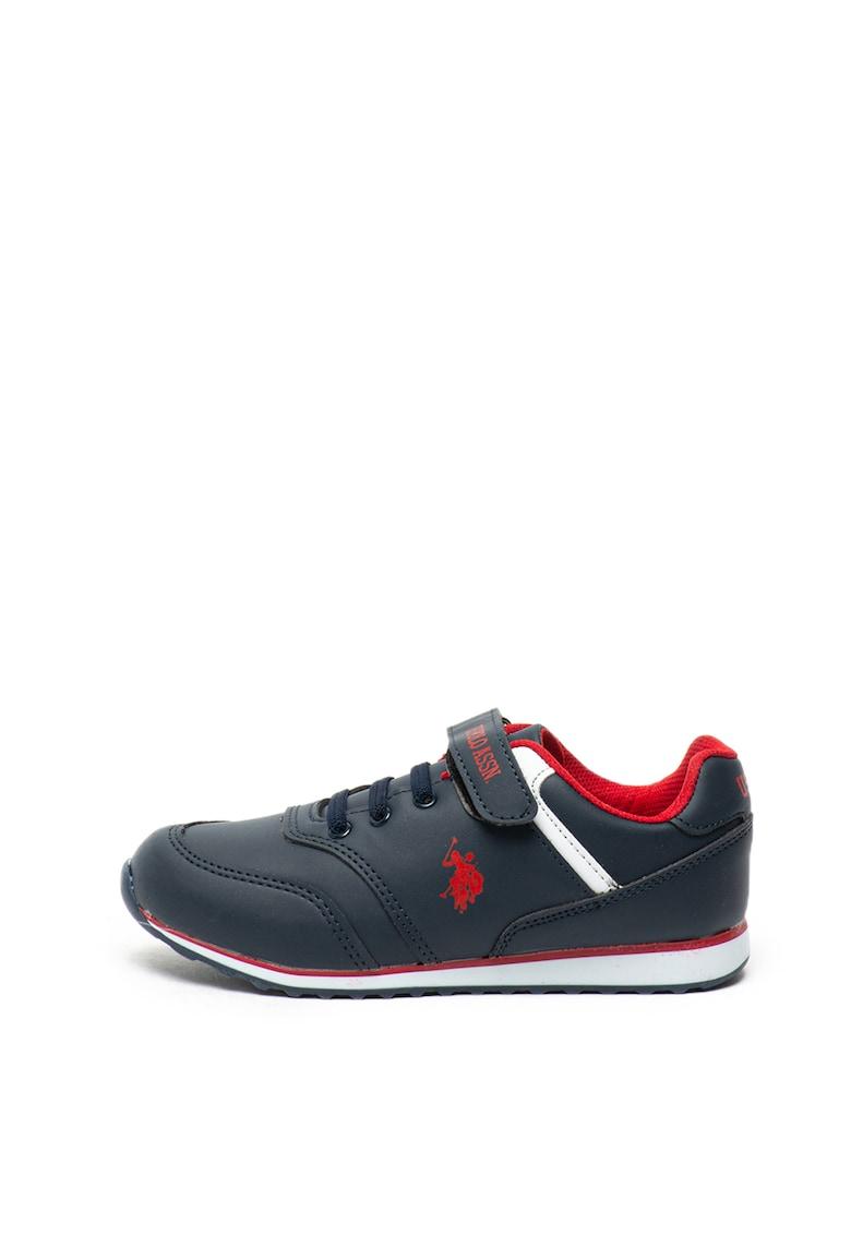 US Polo Assn Pantofi sport cu benzi velcro Micro