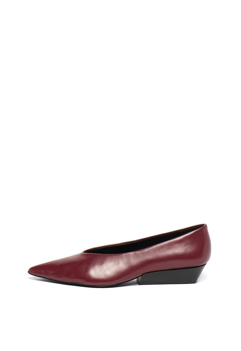 Pantofi de piele - cu varf ascutit Elehanna