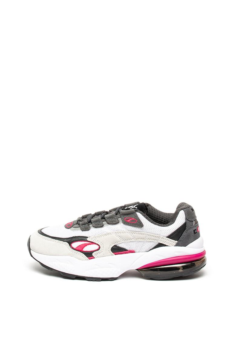 Pantofi sport cu garnituri de piele intoarsa Cell Venom imagine