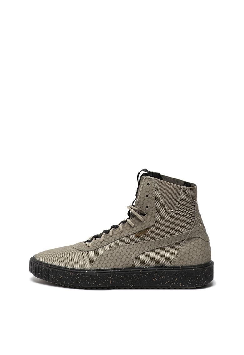 Pantofi sport cu garnituri de piele intoarsa Breaker Hi Blocked