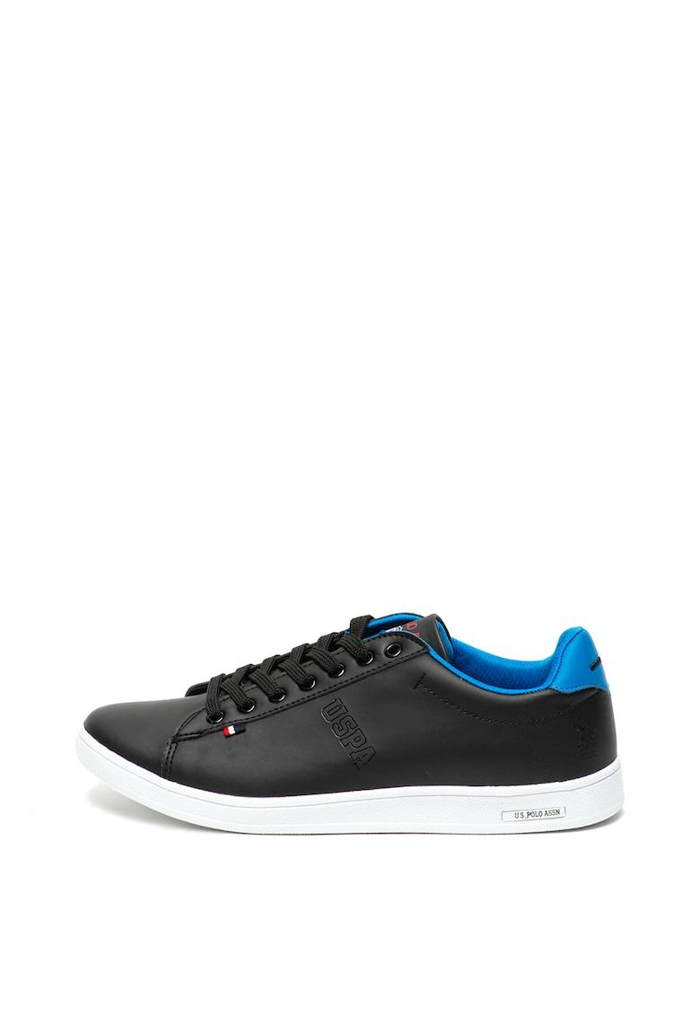 Pantofi sport de piele ecologica Franco