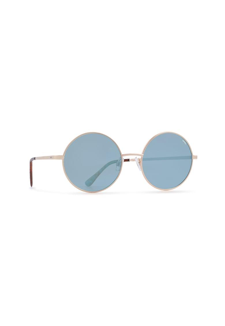 Ochelari de soare rotunzi cu lentile ultrapolarizate