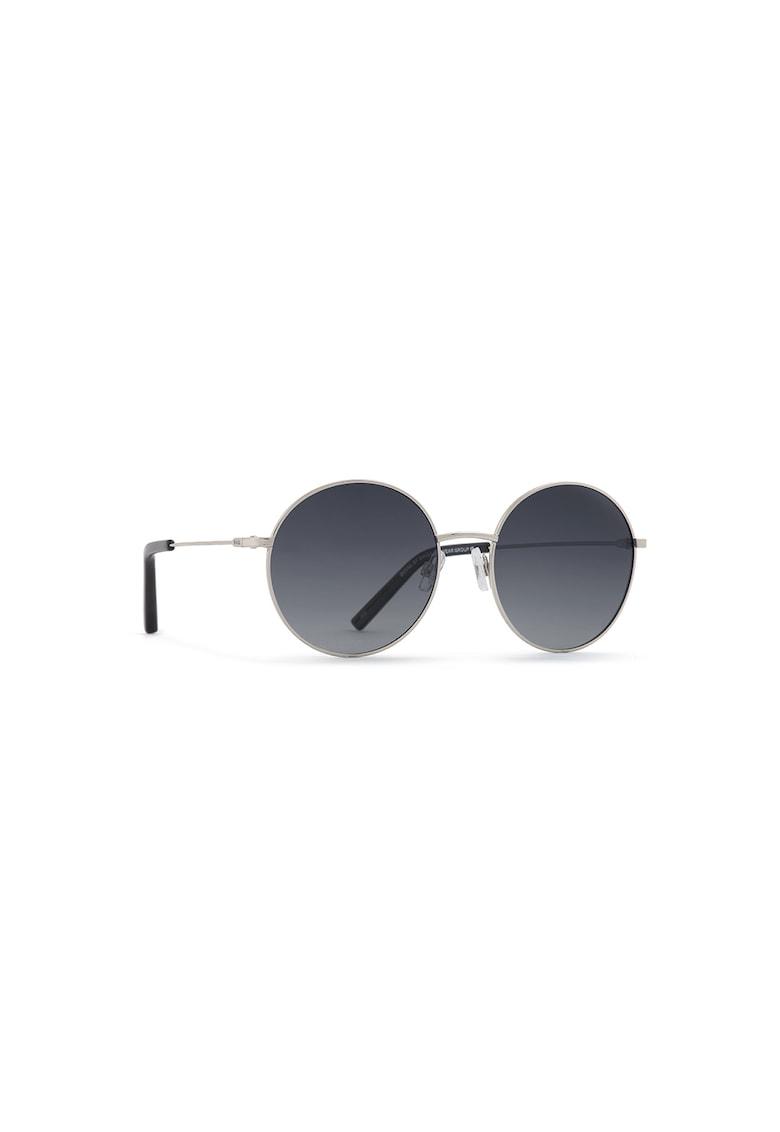 Ochelari de soare rotunzi cu lentile uni polarizate imagine