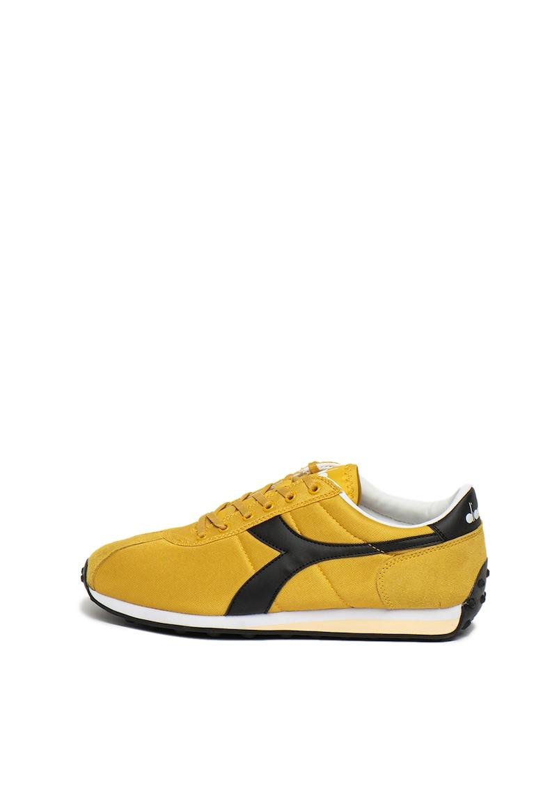 Pantofi sport cu garnituri din piele ecologica Sirio imagine