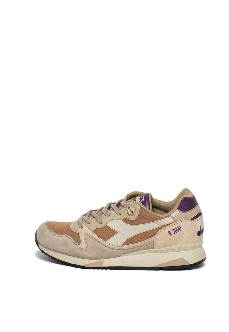 Pantofi sport din piele si piele intoarsa V7000 Italia Alpini