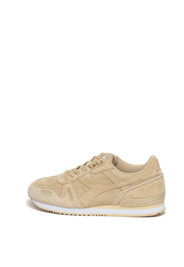 Pantofi sport unisex de piele intoarsa Titan Premier imagine