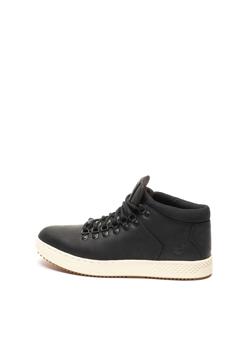 Pantofi sport de piele cu insertii de piele intoarsa sintetica Cityroam