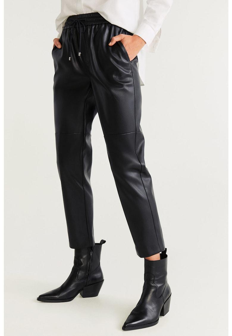 Pantaloni de piele ecologica Apple