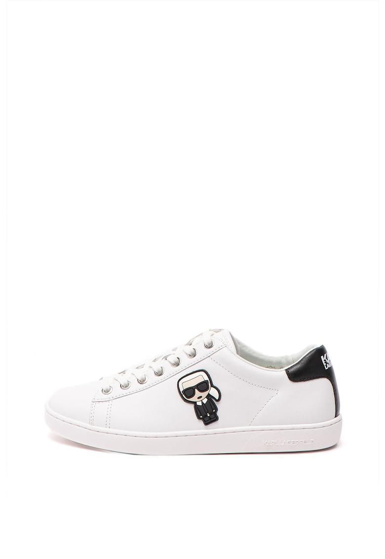 Pantofi sport cu logo Kupsole II Leather imagine fashiondays.ro