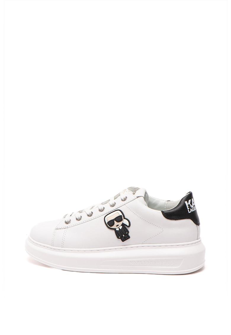 Pantofi sport flatform de piele Kapri imagine