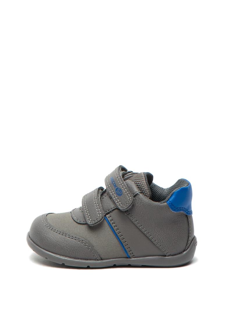 Pantofi de piele ecologica - cu velcro Elthan