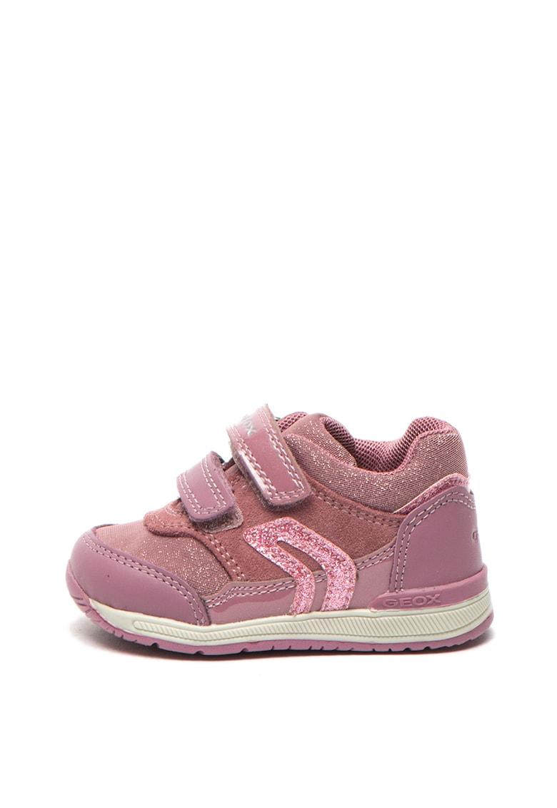 Pantofi sport de piele si piele intoarsa Rishon