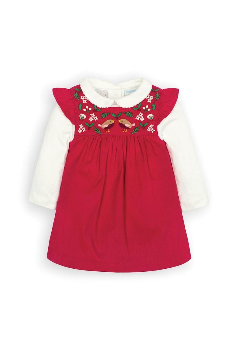 Set de rochie si body JoJo-Maman-Bebe