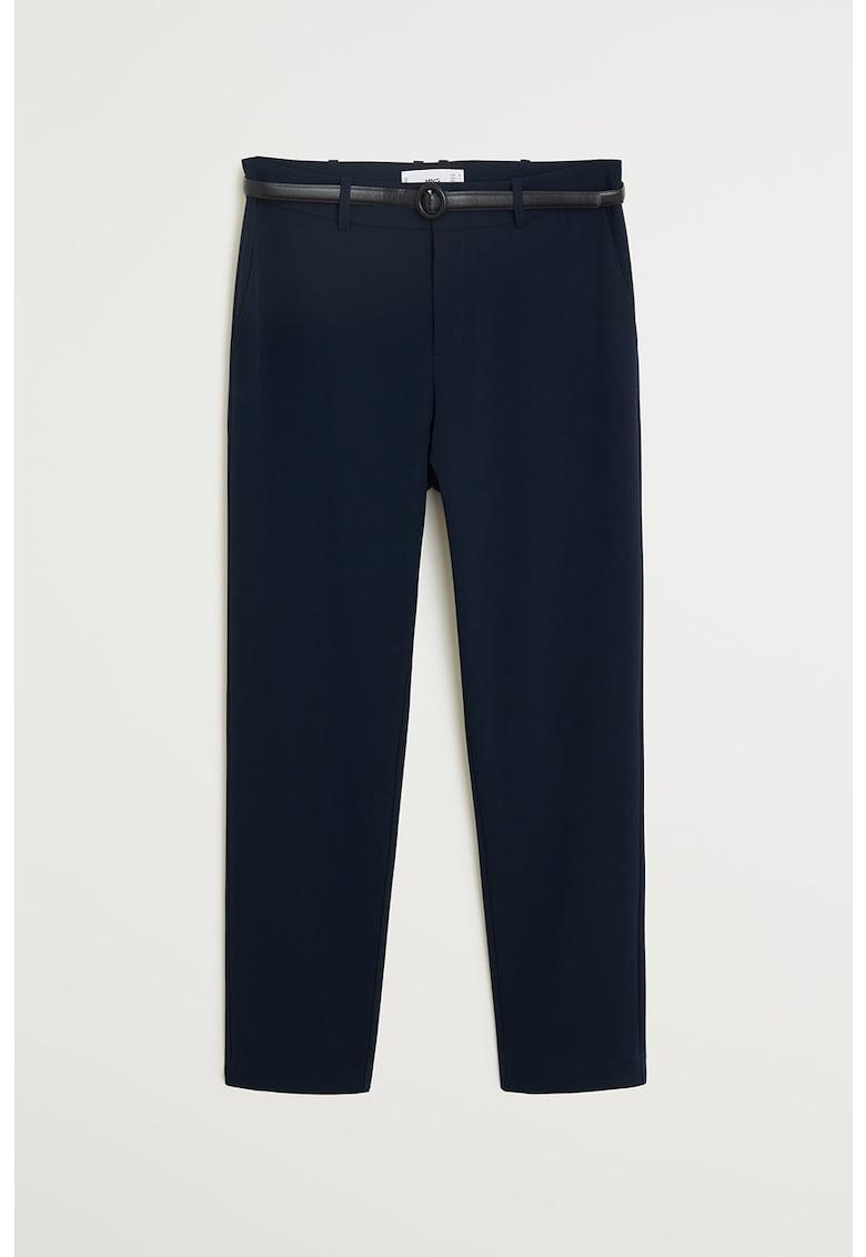 Pantaloni drepti eleganti cu o curea Boreal
