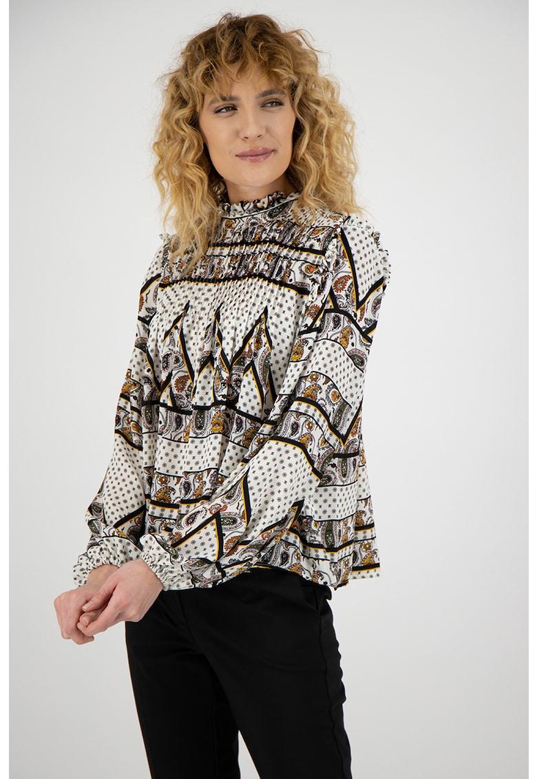 Bluza lejera cu imprimeu Wadde