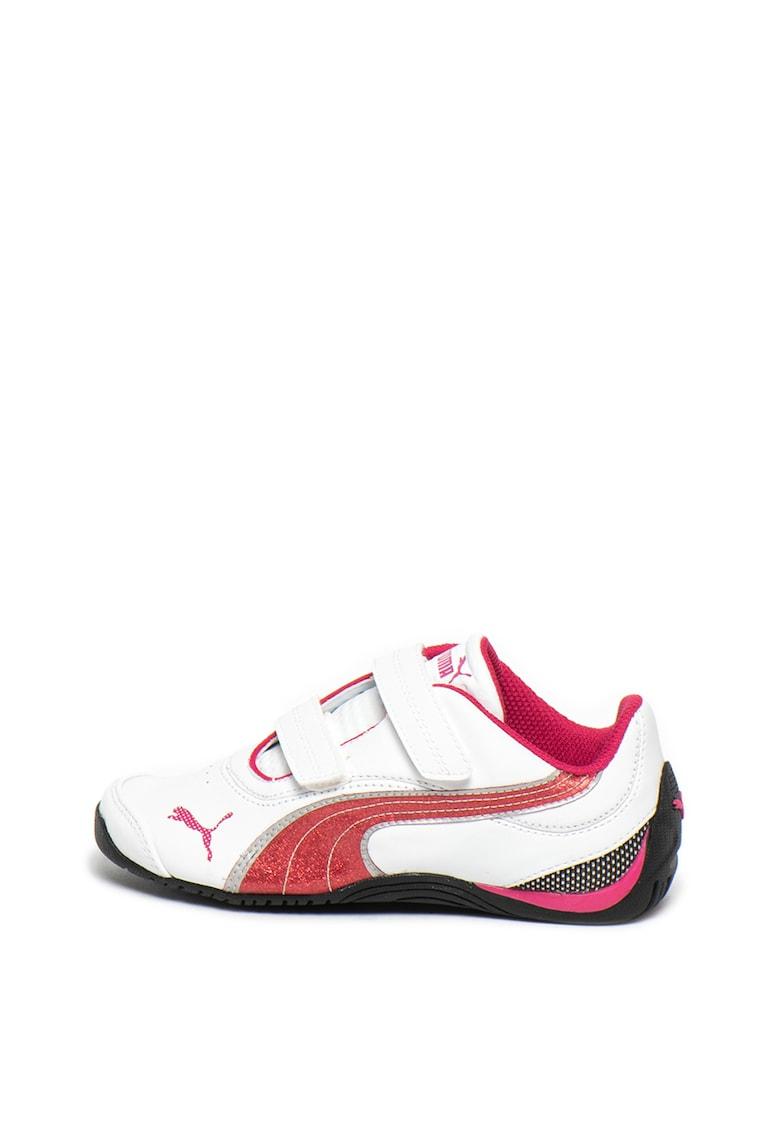 Pantofi sport cu garnituri de piele Drift Cat III