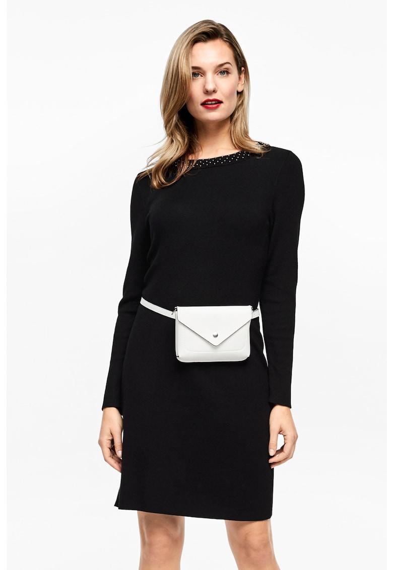 Rochie mini cu aplicatii din nituri