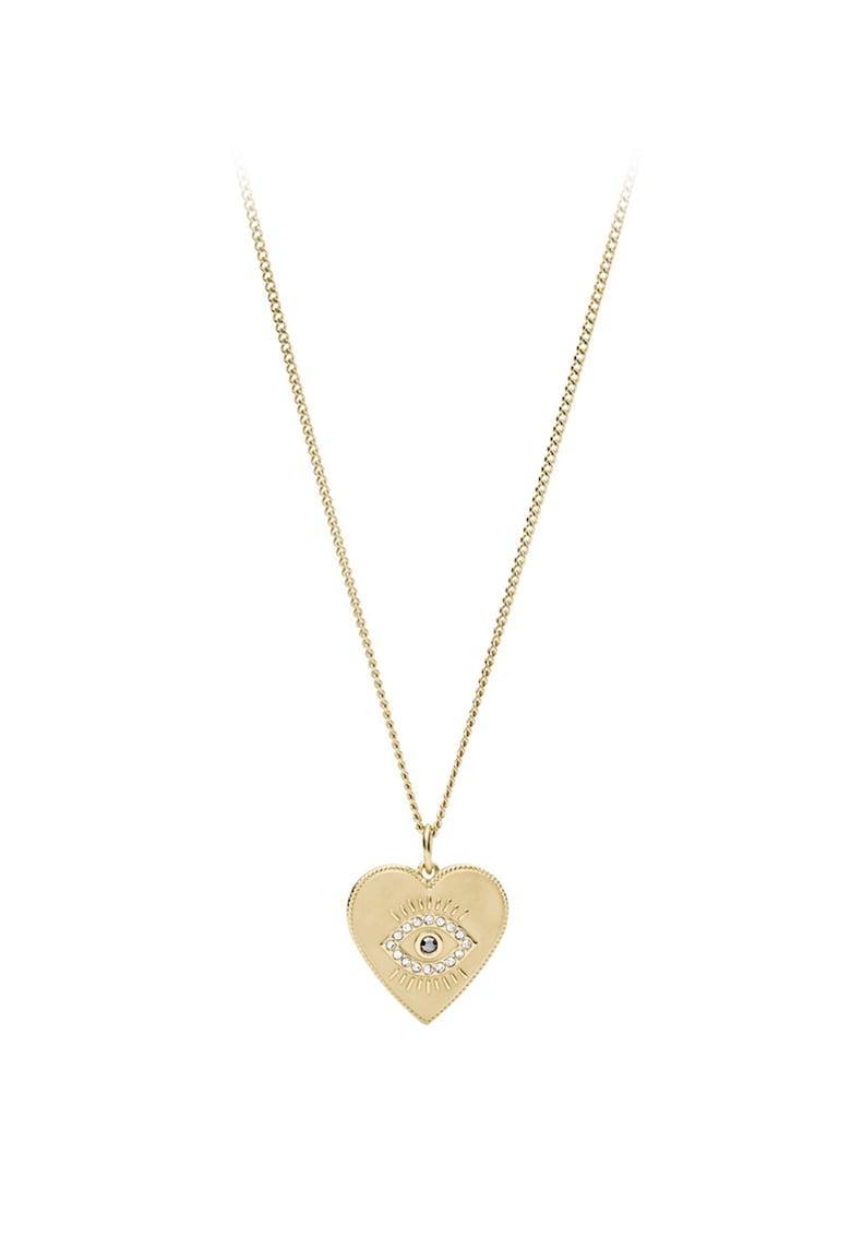 Colier cu pandantiv in forma de inima