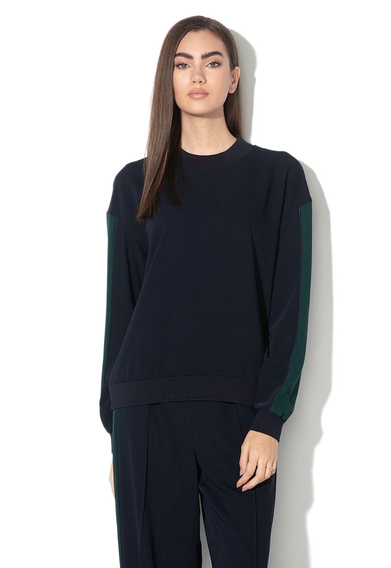 Bluza sport cu segmente contrastante Keelee