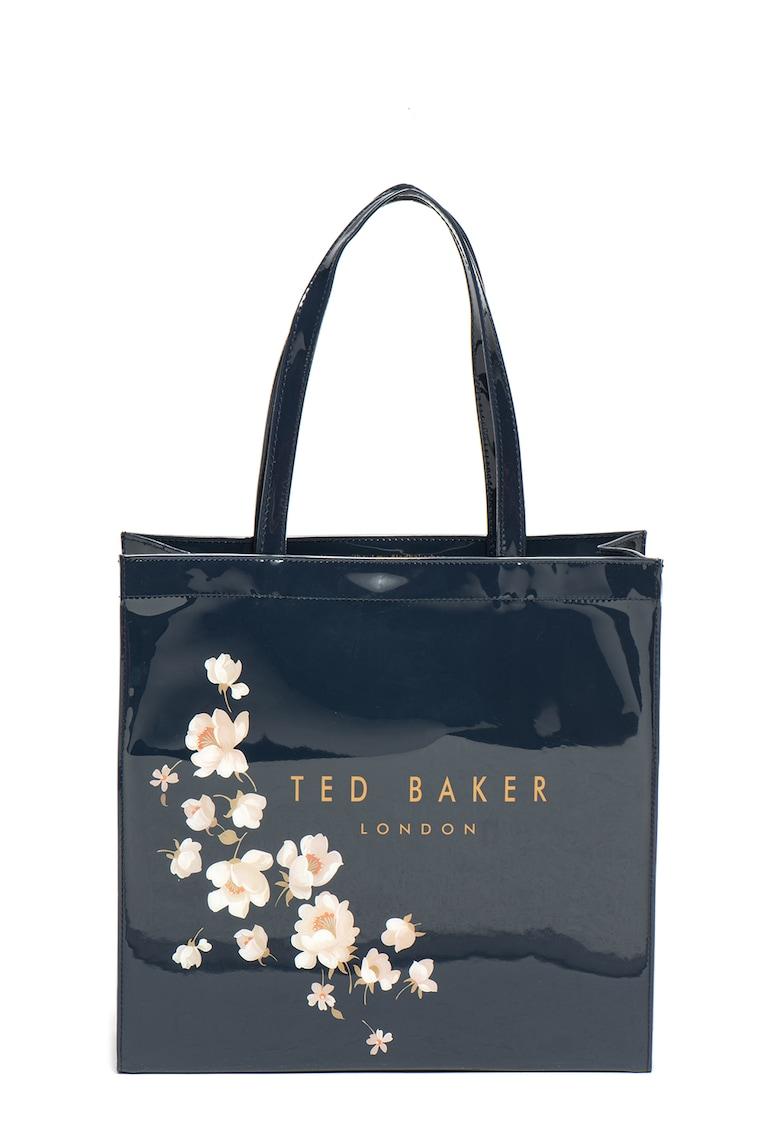 Geanta shopper cu imprimeu floral Baxtcon