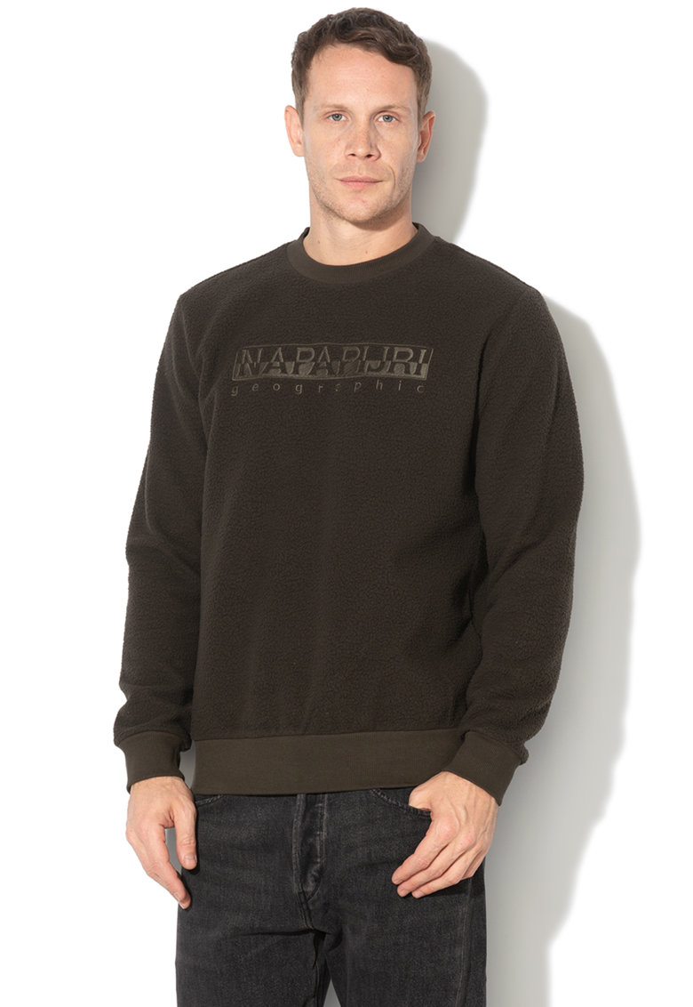 Bluza sport din fleece - cu logo brodat Tonghe