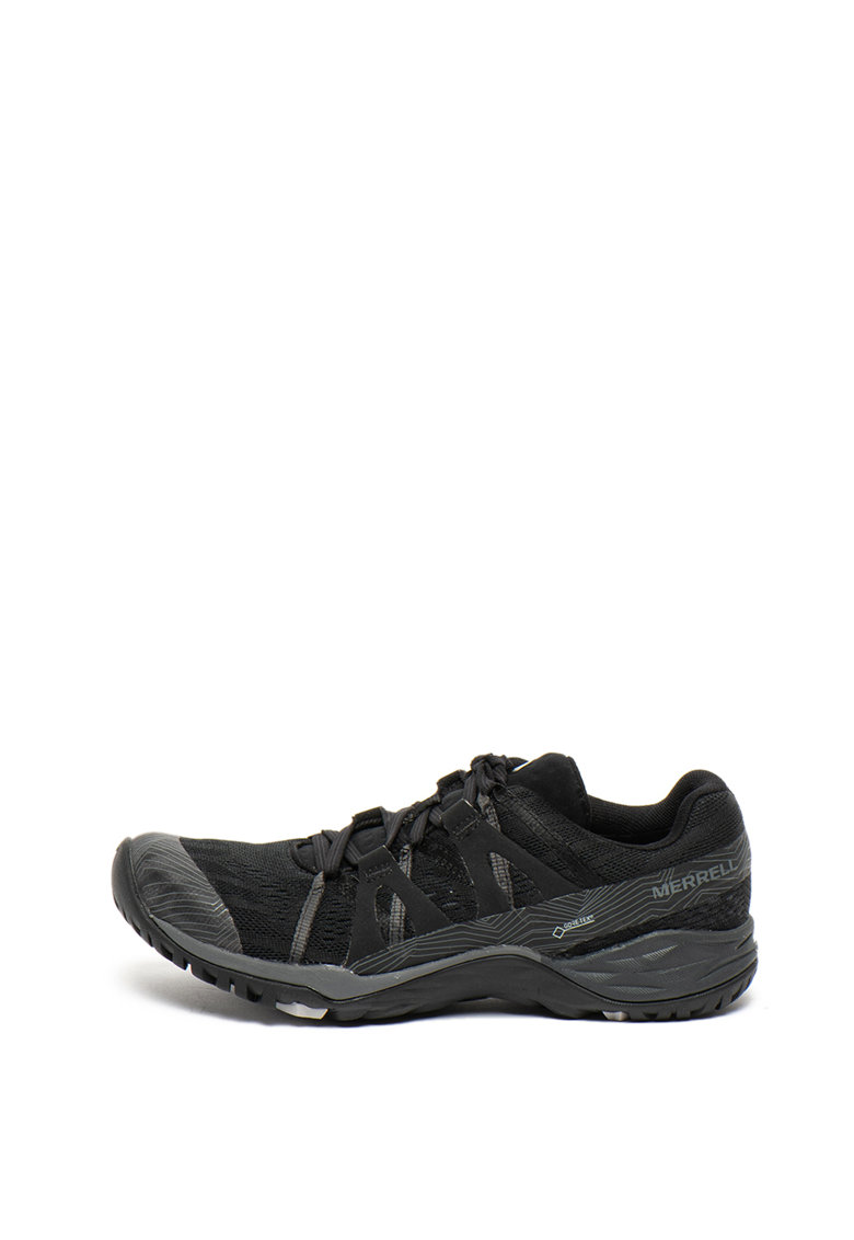 Merrell Pantofi cu garnituri de piele ecologica - pentru drumetii Siren Hex 02