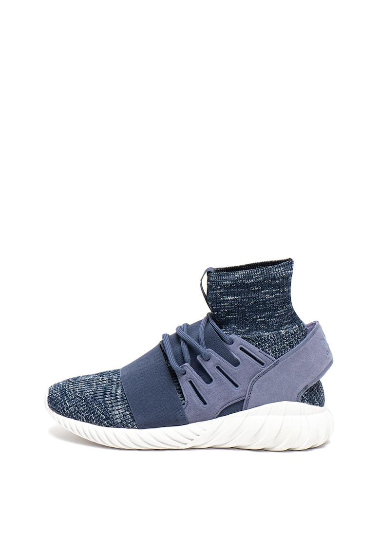 Pantofi sport cu garnituri de piele Tubular Doom