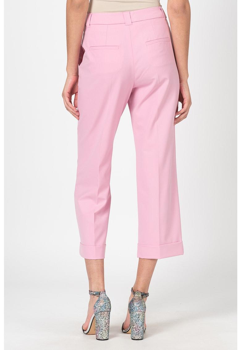 Pantaloni crop Nilla fashiondays.ro