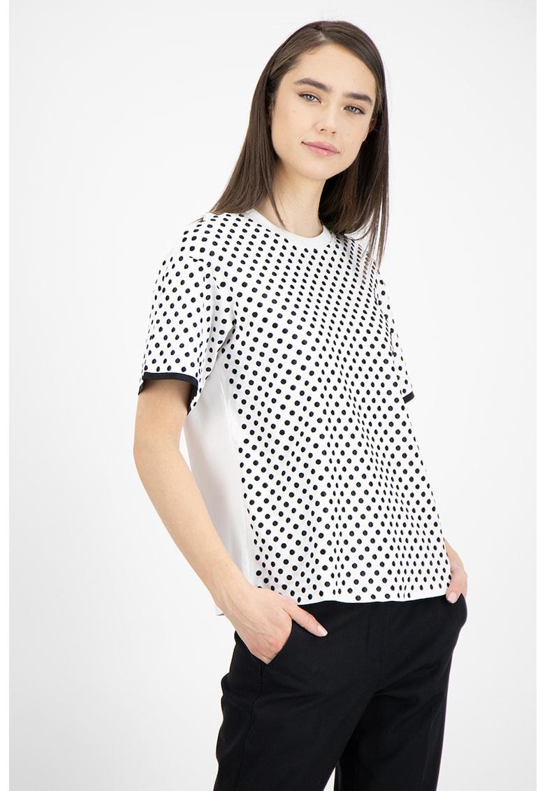 Tricou din amestec de modal Giano