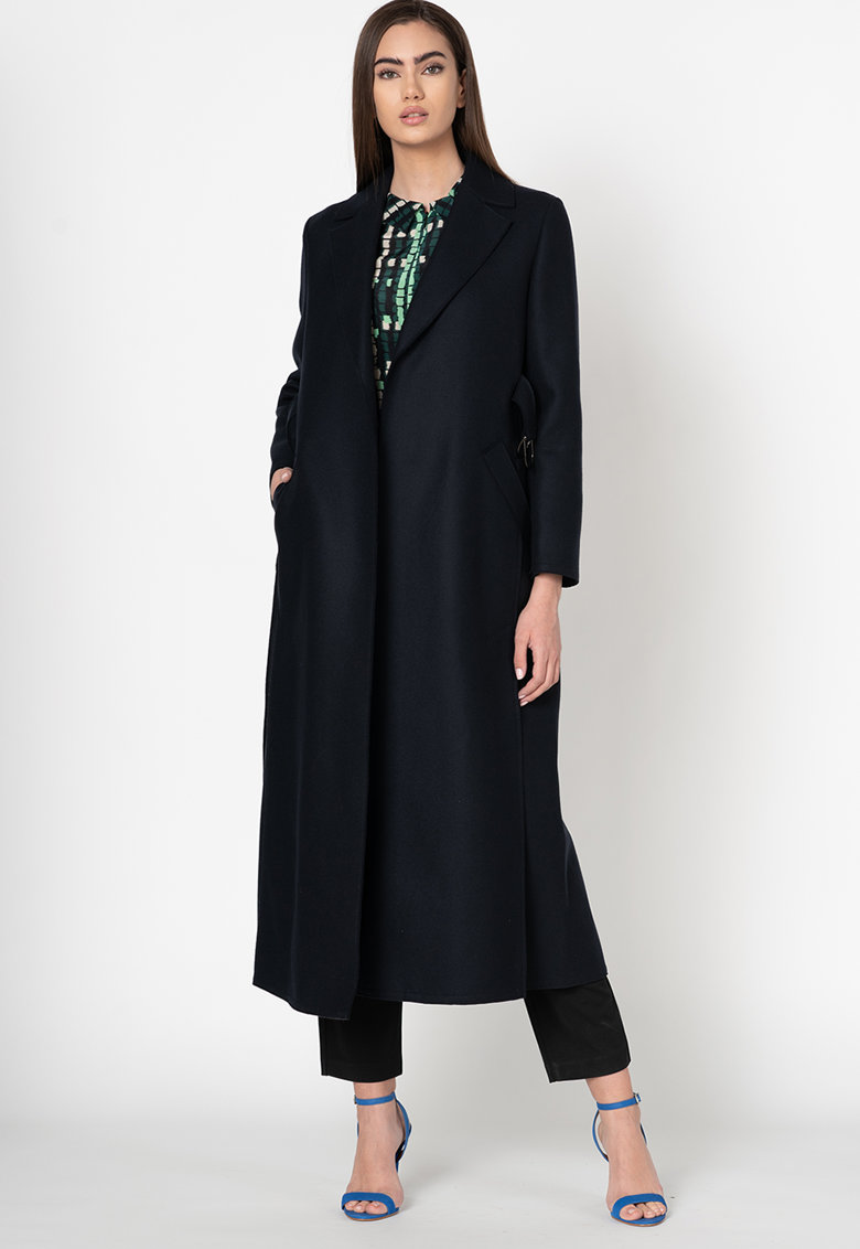 Palton din amestec de lana Casella