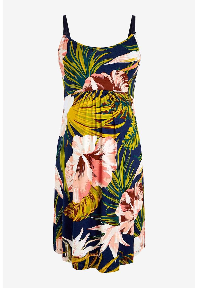 Camasa de noapta cu model floral – adecvata pentru gravide si alaptare de la NEXT