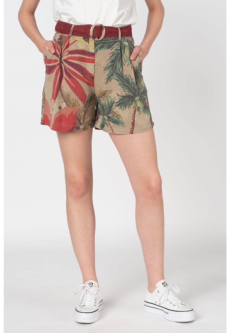 Pantaloni scurti din amestec de lyocell Pearl Harbour imagine